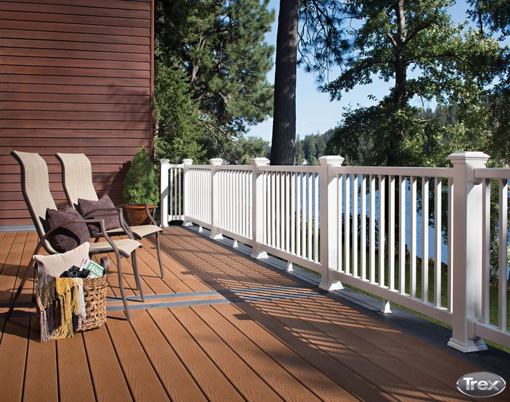 with summer winding down its the perfect time to replace your wood deck with trex