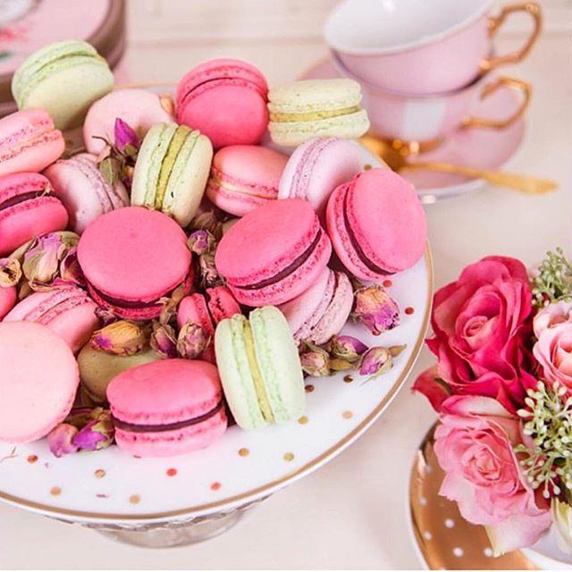 Sweet treats with tea. Image by Cristinare Design. theguideonline.com.au