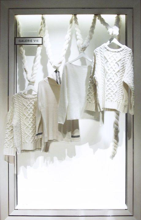 """ISETAN,Shinjuku,Tokyo, Japan, GALERIE VIE: """"Life,Pleasure,Fashion.... Own Your Style"""", pinned by Ton van der Veer"""
