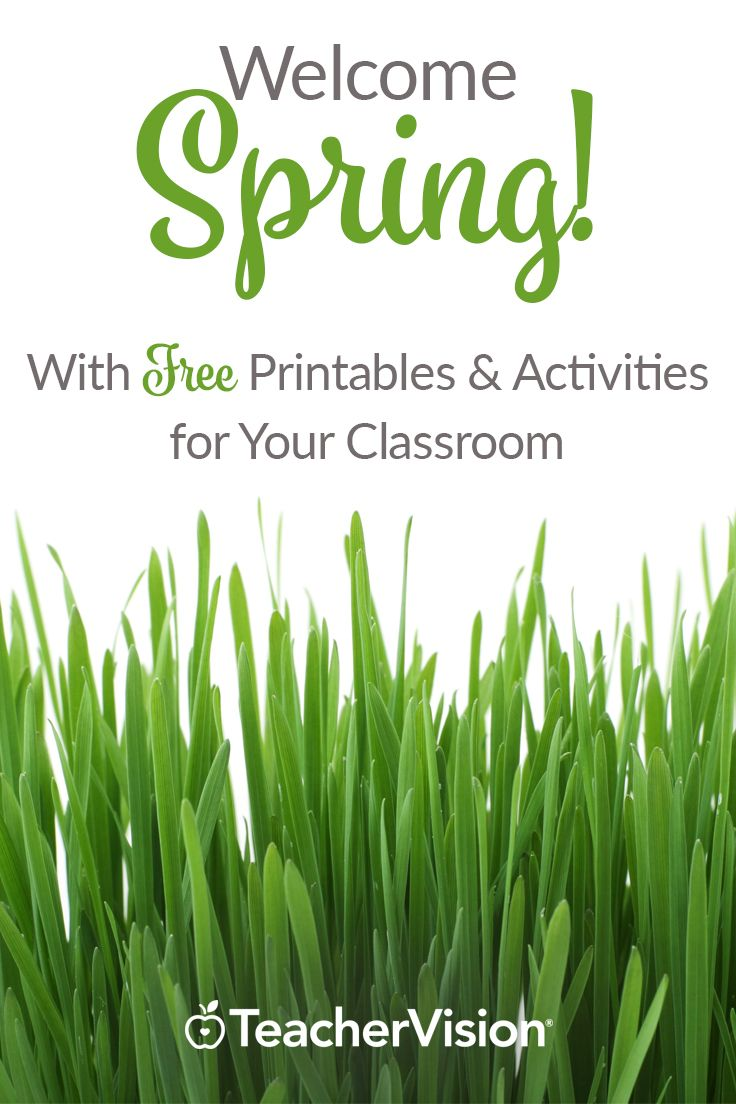 Spring is a season of new beginnings and fresh starts, making it the perfect time to mix some new content into your lesson plans! Use the activities and printables in our  Spring Printable Book to help elementary students learn new math, science and vocabulary skills. It's full of resources for spring activities, Earth Day, Easter, Passover, and more. Get it FREE when you sign up for a 7-Day Trial. (Grades Pre-K-6)
