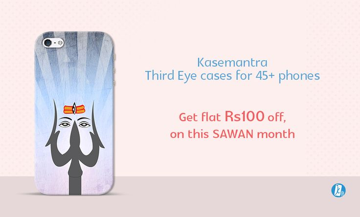 Get #Rs. 100 #Discount On #Latest #Shiva Designer #Smartphone #Covers For Complete #Sawan #Month. Shiv ji #Third #Eye Phone #Covers | Rs. 100 #Discount Offer So #Get #Soon on :- #www.kasemantra.com