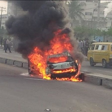 Shocker: Libyan Returnees Going To See T.B. Joshua Get Burnt Beyond Recognition In Road Accident