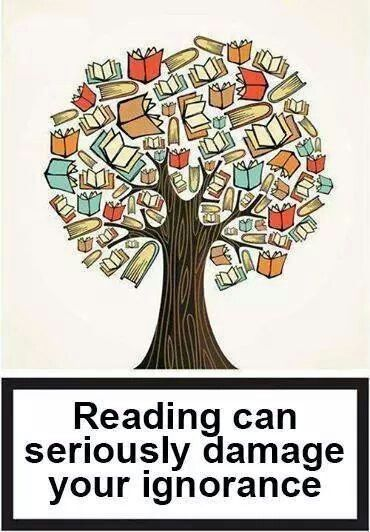 Be careful! #reading #knowledge #books
