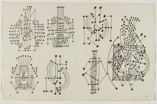 Stylefluid Trendz: Inspired or otherwise? Poonam Bhagat creates exact prints of Picasso's iconic series of ink dot constellation into her A/W 2015 Collection: Is this ethical?