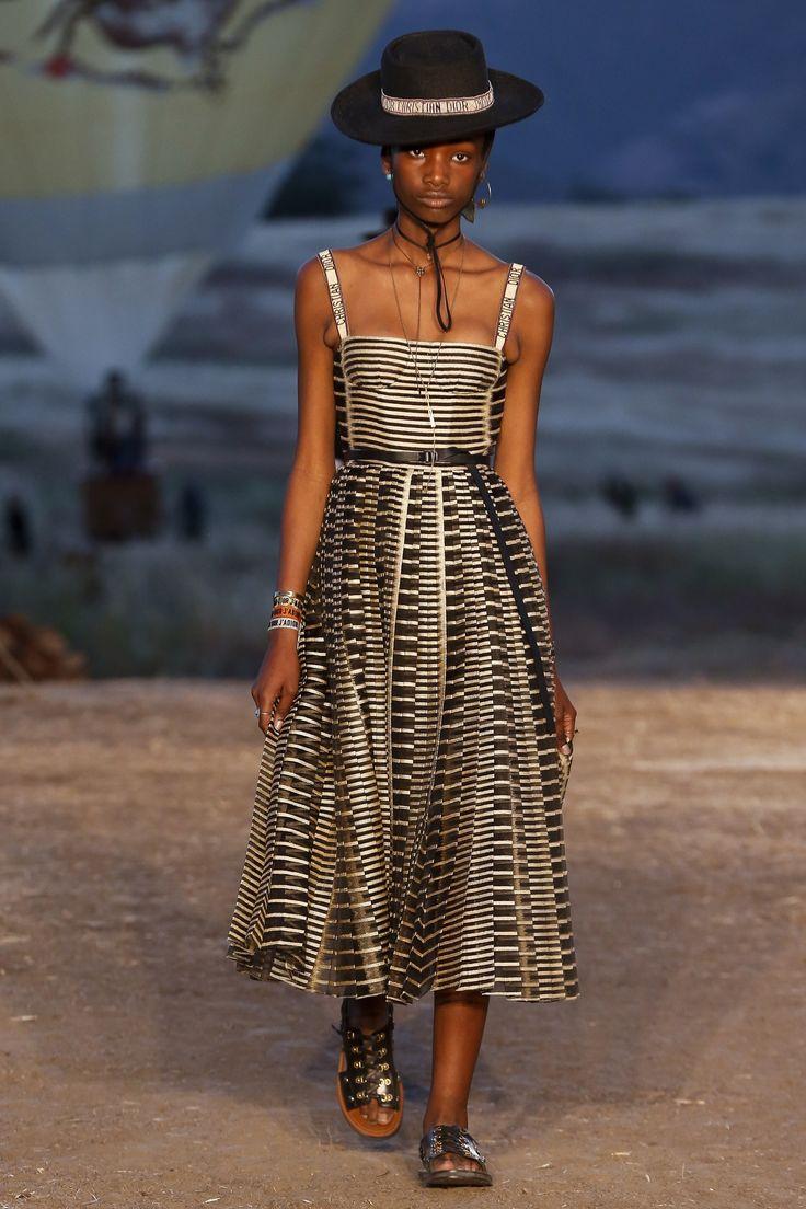 Christian Dior Resort 2018 Fashion Show - Imari Karanja