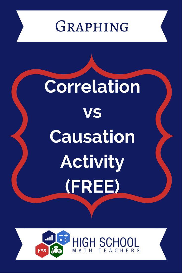 Causation Vs Correlation Activity (FREE)