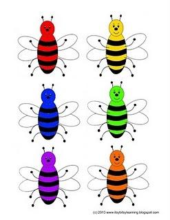 bee hive color matching: Bees Bijen Abeilles, Beehive Color, Colors, Buzz Ing Bees, Buzzing Bees, Bees Lap Book