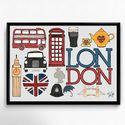 Lakásdekoráció kép, kerettel, ingyenes szállítással: Londoni élmények, Dekoráció, Otthon, lakberendezés, Falikép, Mindenmás, Meska
