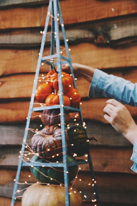 Fall Pumpkin Decor Inspiration With Terrain | Free People Blog #freepeople