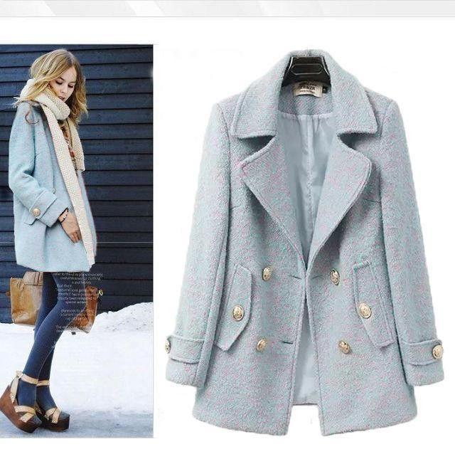Стильная Женская Крутка с Узором, Много Размеров На Выбор, Теперь холодная погода, Каждый нуждается в пальто.