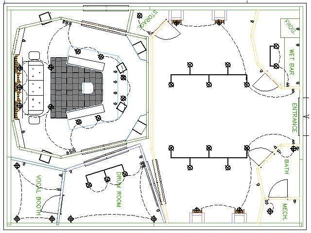 30 Best Recording Studio Plans / Layouts Images On