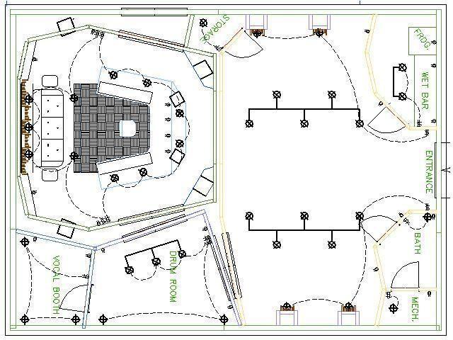 Home Recording Studio Design Plans Cool Design Of Small Recording Studio Design Ideas 13