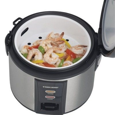 Black+decker Rice Cooker - Stainless Steel, Ss