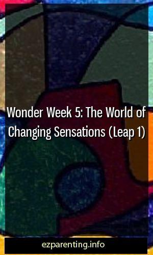 Wonder Week 5: The World of Changing Sensations (Leap 1)
