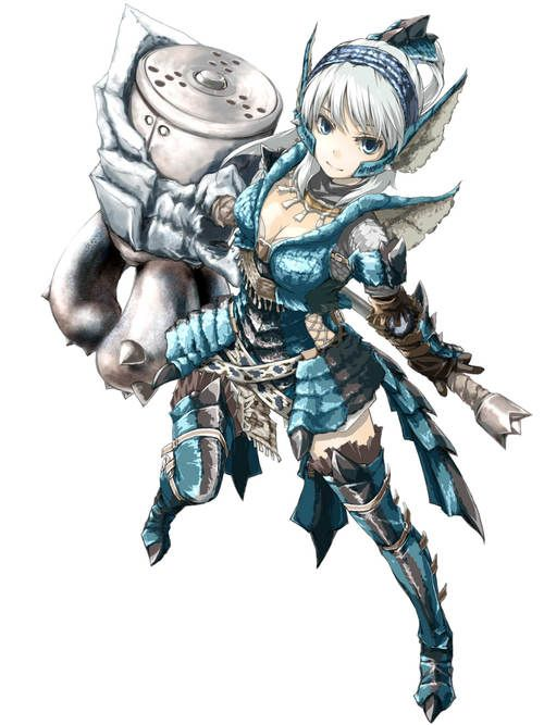 Anime Characters Monster Hunter World : Best monster hunter images on pinterest