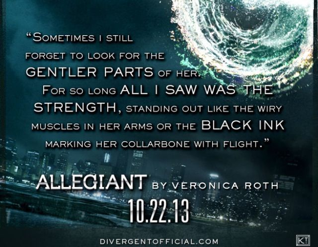Four's first Allegiant quote