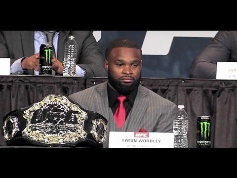MMA Tyron Woodley: 'Boo Me If You Want... You Have to Respect Me'
