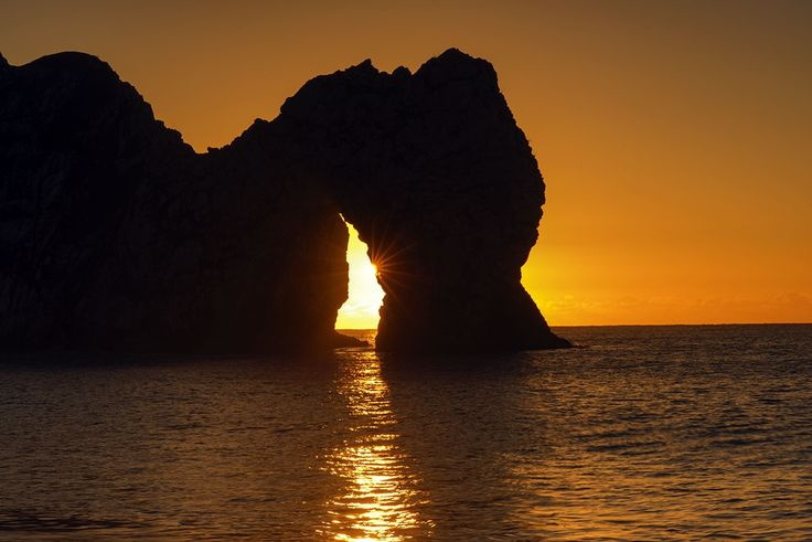 Durdle Door Sunrise by Peter Spencer on 500px