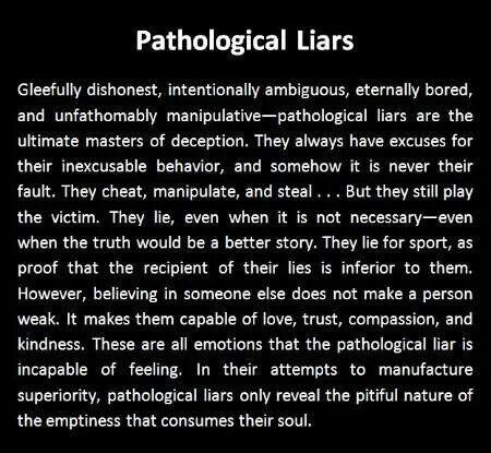 Dating compulsive liar