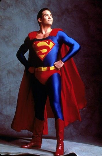 dean cain superman | Dean Cain as Superman in Lois & Clark: The New Adventures of SupermanA ...