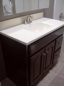 17 best ideas about bathroom vanity makeover on pinterest - How to redo bathroom cabinets for cheap ...
