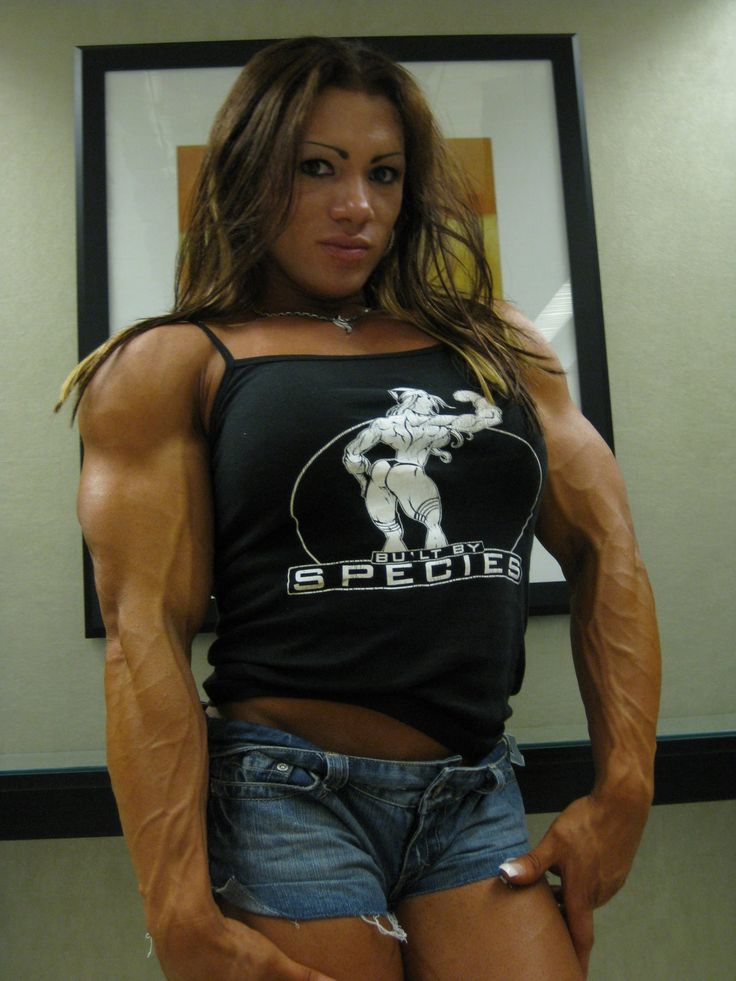 Isabelle Turell | MUSCLE GODDESSES - Thank God For