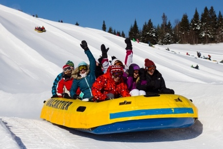 Snow Tubing at Valcartier, Quebec - can't wait!