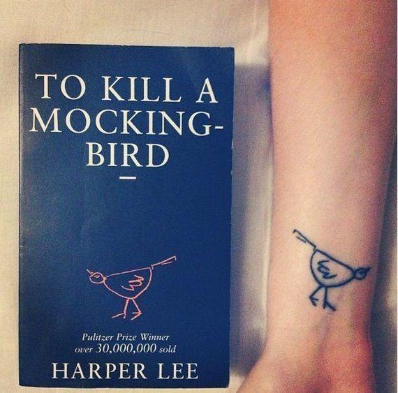 To Kill A Mockingbird tattoo