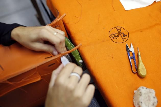 Visit to a Hermes Factory