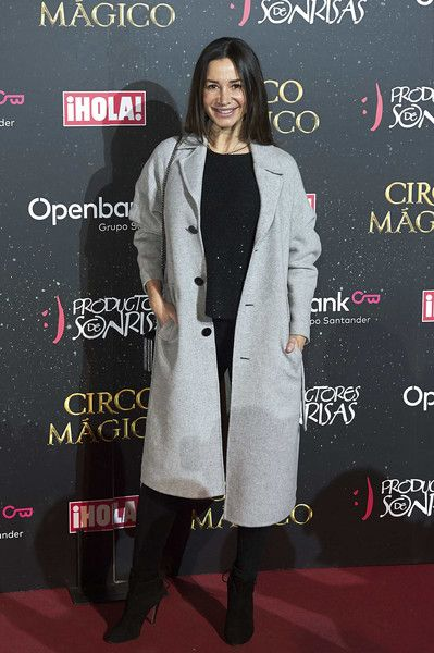 Cecilia Gomez attends 'Circo Magico' premiere on December 22, 2017 in Madrid, Spain.