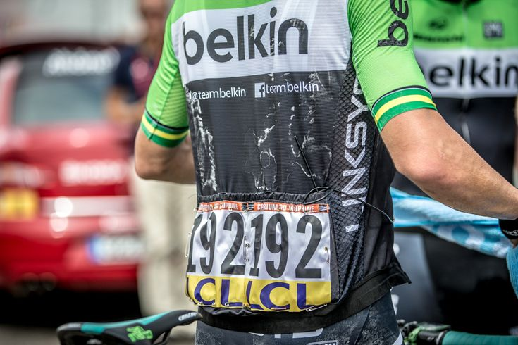 Photo Essay: Looking back at the 2014 Criterium du Dauphine - Over the first five days of the race, this was a common sight at the finish line as temperatures soared. Photo: BrakeThrough Media | brakethroughmedia.com