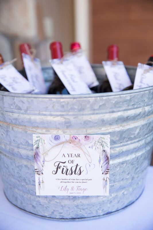 French Country Baby Shower Beverages