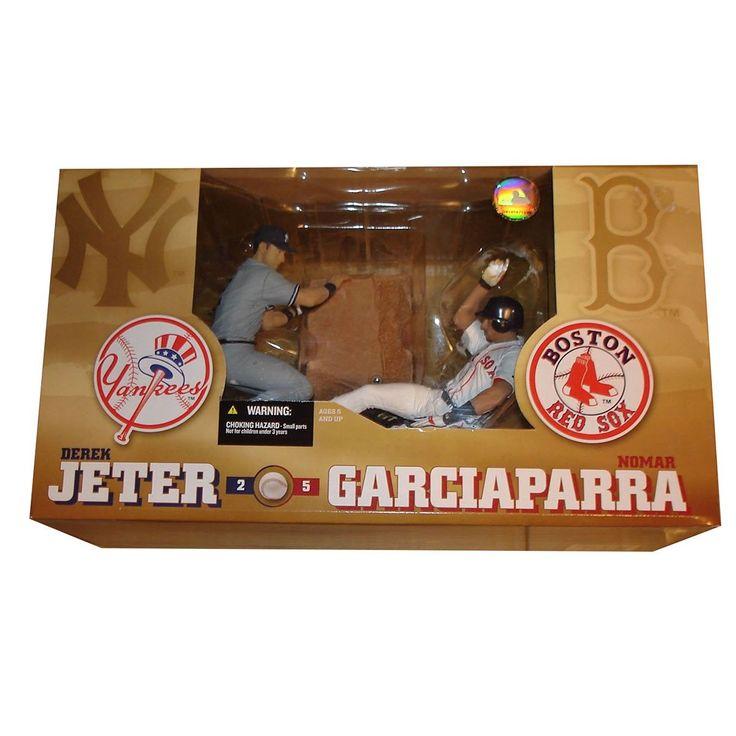 Derek Jeter & Nomar Garciaparra McFarlane Action Figure 2 Pack