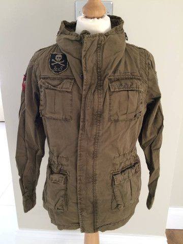 Scotch Shrunk Army Style Jacket