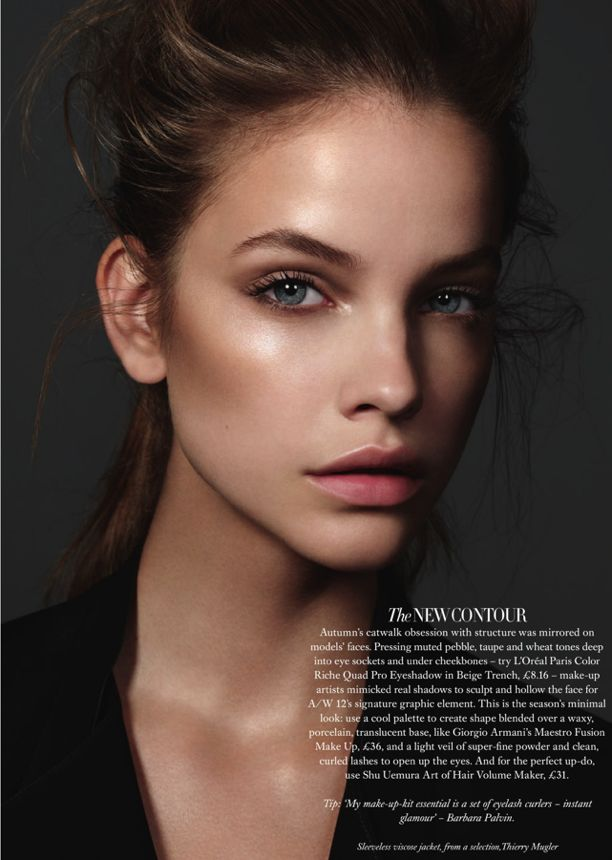 no makeup look: Make Up, Nature Makeup, Dewy Makeup, Barbara Palvis, Sensitive Skin, Barbarapalvin, Makeup Contouring, Highlights, Harper Bazaars