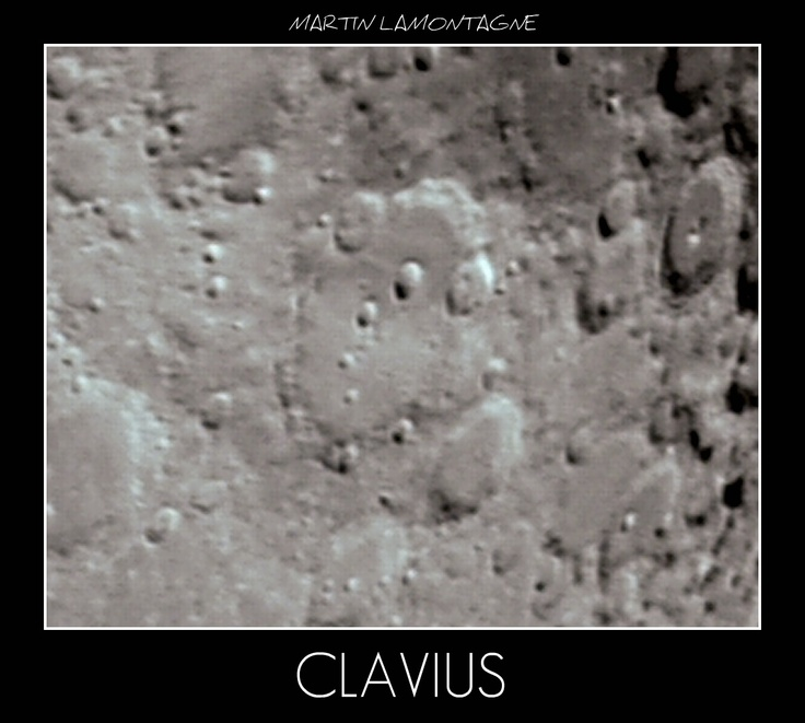Moon CLAVIUS ORION + webcam