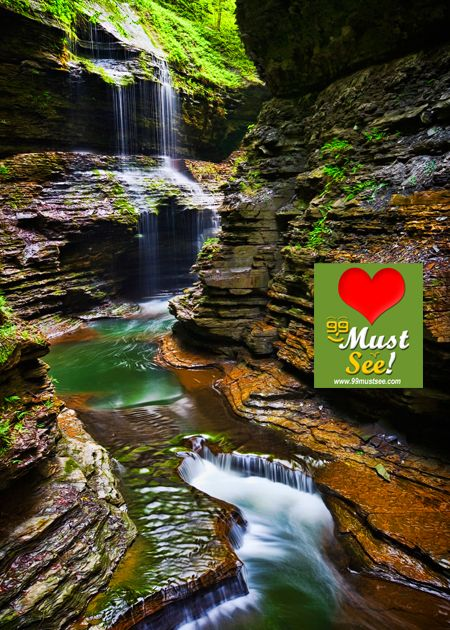 Watkins glen state park new york beautiful places to for Beautiful places to visit in new york state