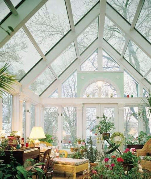 Anya adores design: Orangery // Greenhouse love