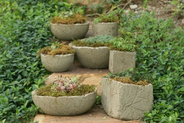 Want something different for your garden? These hypertufa planters could be the right one for you! You can imitate the beauty of real tufa limestone using the ingredients below.And of course, when you make something yourself, you can have it whatever shape and size you like. Materials: 2 parts Portland Cement 3 parts Perlite (or vermiculite) 3 parts Peat Moss (or sawdust) Water Tools: Measuring Container Container for mixing dry ingredients Waterproof Gloves Click on any image to start…
