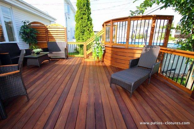 Plancher de patio en ipé - PATIOS EN BOIS