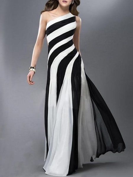 Brilliant One Shoulder  Assorted Colors Party-dress Party Dresses from fashionmia.com