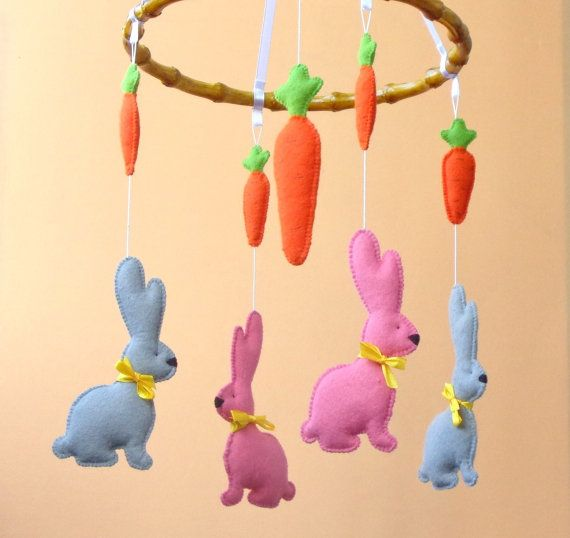 Hey, I found this really awesome Etsy listing at https://www.etsy.com/listing/202151856/sale-40-bunny-mobile-baby-crib-mobile