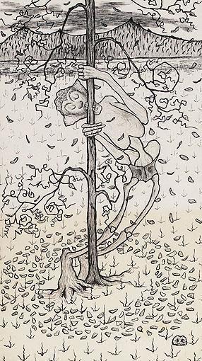 Artwork by Hugo Simberg, SYKSY (AUTUMN)