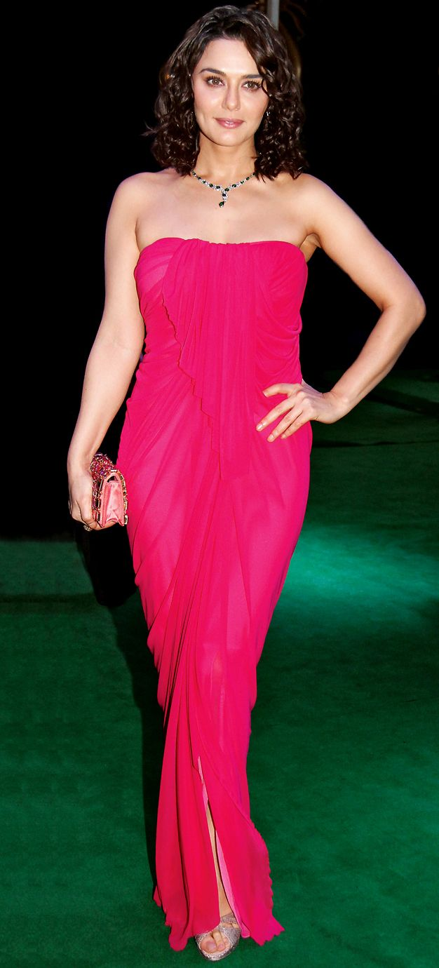 Bollywood, Tollywood & Más: Preity Zinta IIFA 2012