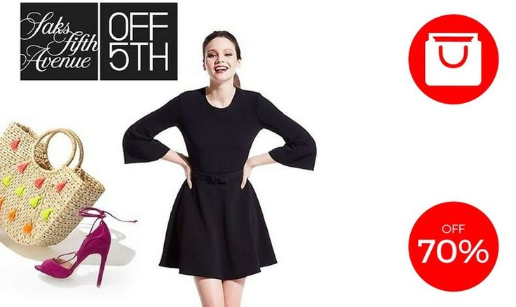 70% OFF SALE at OFF5th Saks Fifth Avenue - EDEALO