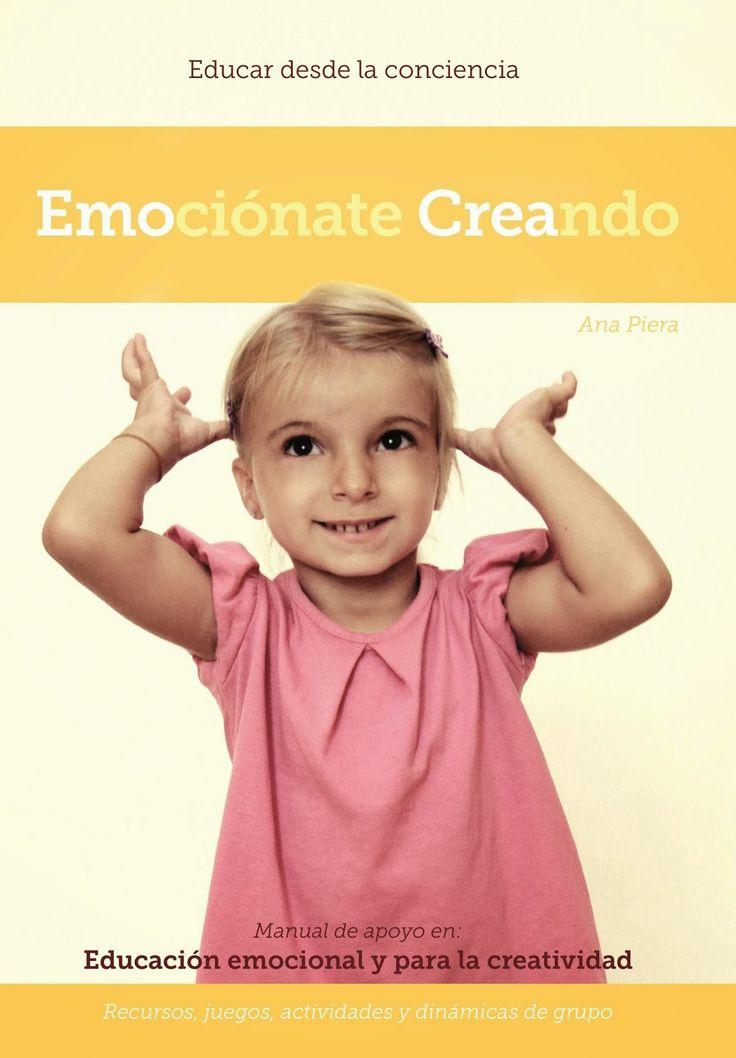 Se ha elaborado un manual para ayudar a los docentes Canarios que este año empiezan con la propuesta de Educación emocional y para la creatividad, con recursos, juegos, actividades y dinámicas de g...