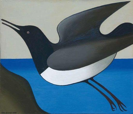 Kereru by Don Binney