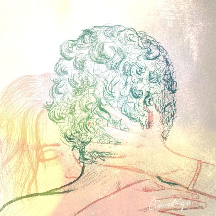 "FEEL IT. ""Contigo""  Created by: Noelia Laguna (me)"