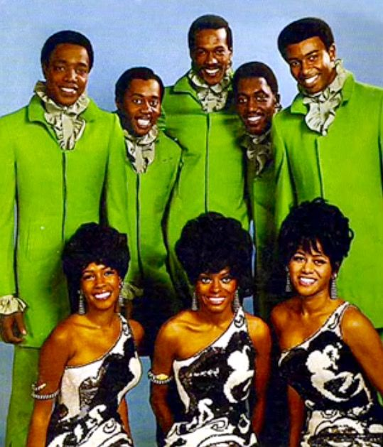The Temptations and The Supremes