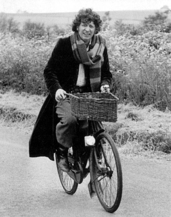 I love the new Doctor Who episodes but it's Tom Baker who will always be my doctor.
